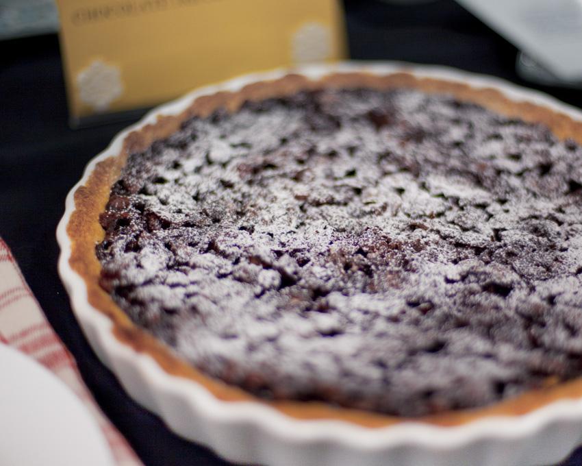 Delightful tart.